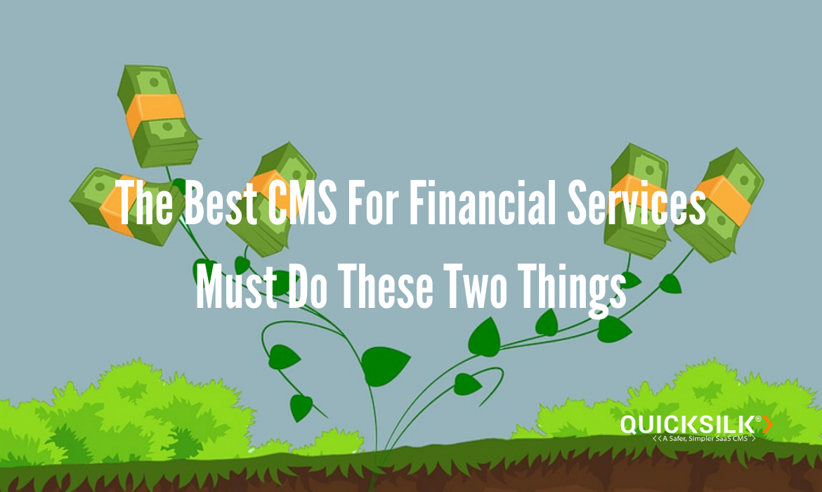 Best CMS For Financial Services