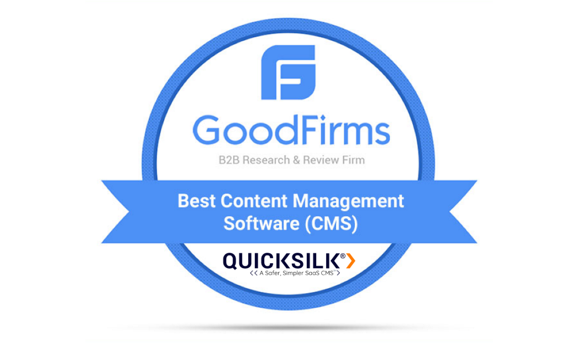 QuickSilk Named Top 10 Content Management System