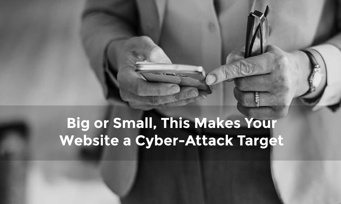 Big or small, your website is a target for hackers